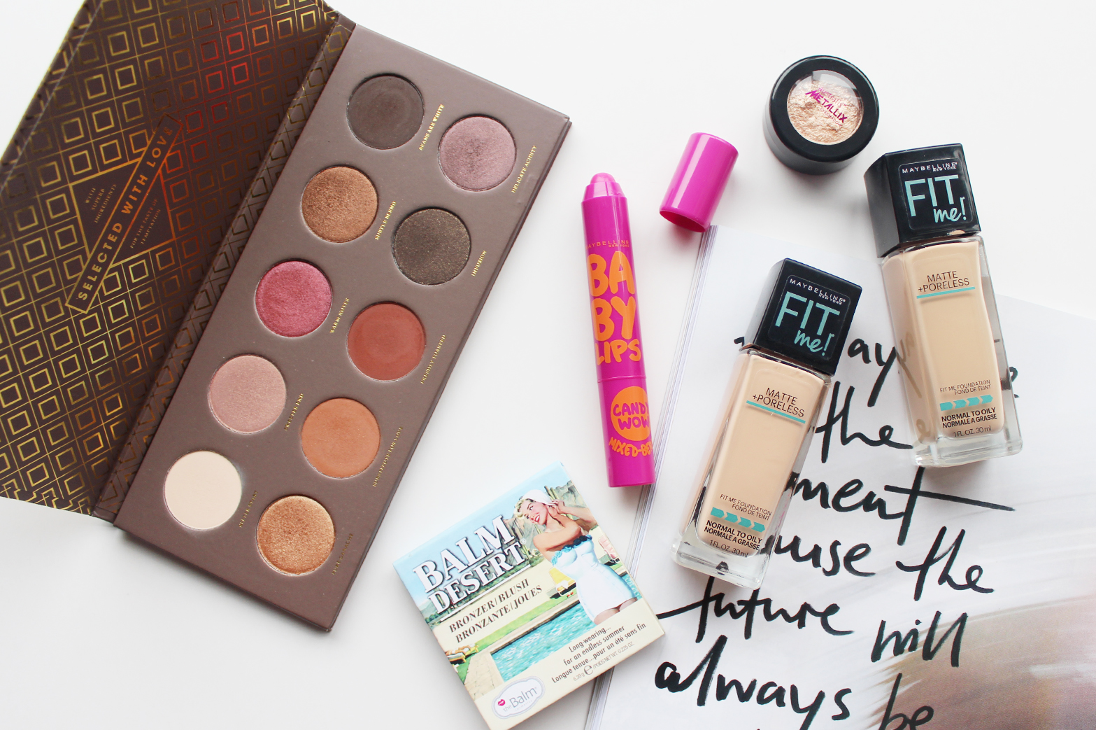MOST LOVED | July '15 - Maybelline, TheBalm, Australis + Zoeva - CassandraMyee
