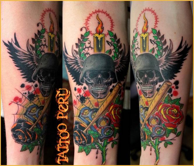Tatuajes: Historia de los Tatuajes. Tatuaje_del_Tercer_Reich