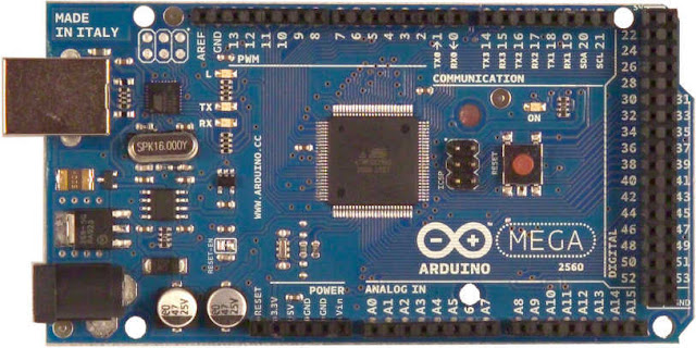 Power connection on arduino