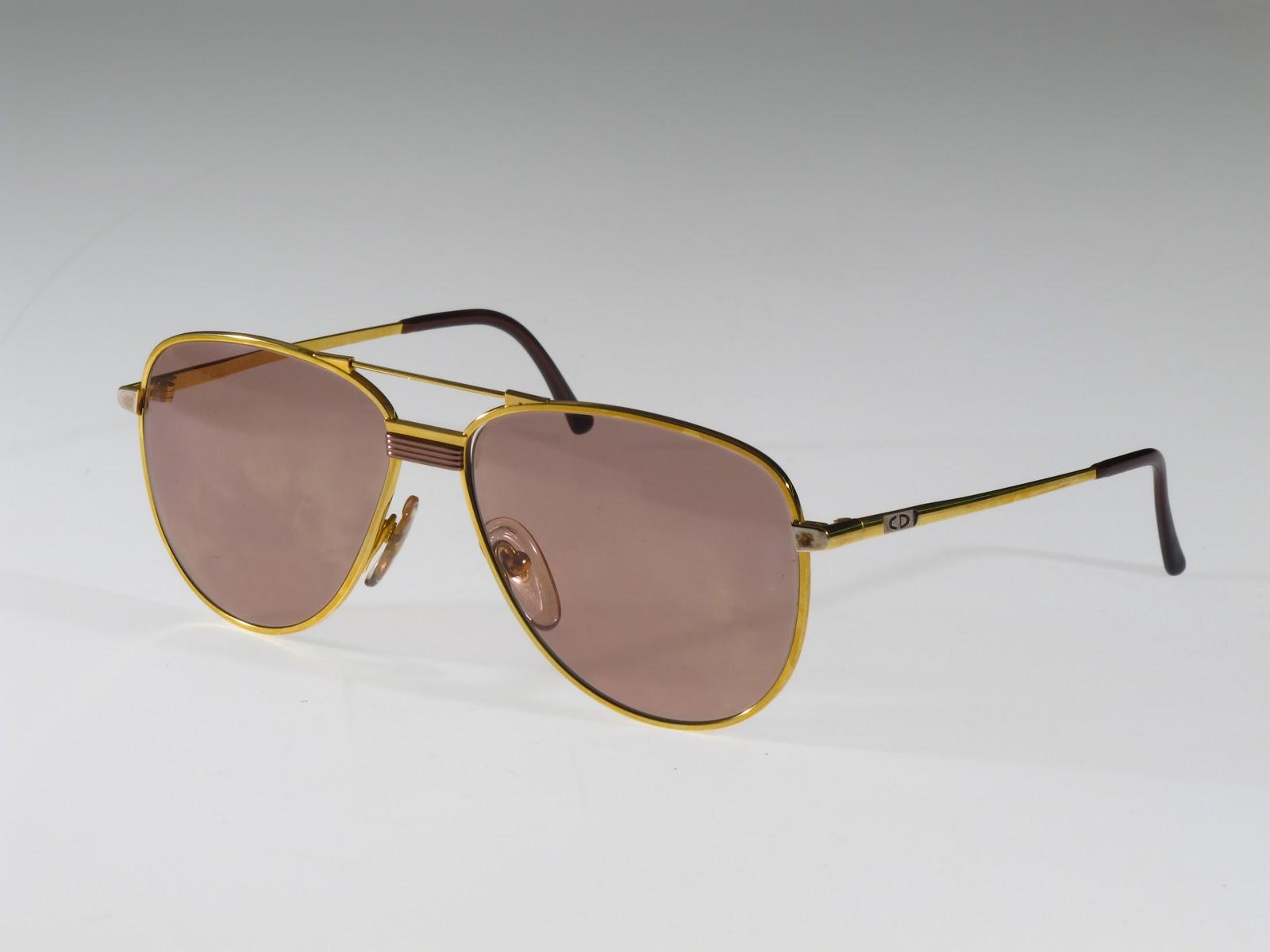Vintage Eyeglass Frames New York City : Selima Optique: Vintage Eye: 70s Christian Dior Gold ...