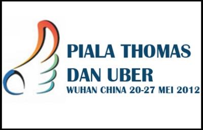 Keputusan Penuh Badminton Final Piala Thomas Dan Uber 21 Mei 2012