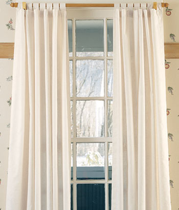 Navy White Striped Curtains Double Wide Blackout Curta