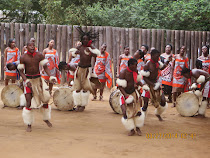 Swazi Cultural Village Dancers, Lobomba, Swaziland