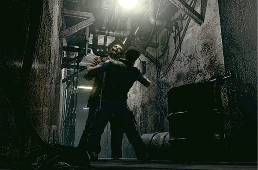 Resident Evil Remake Chris vs Zombie