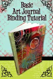Learn some great techinques for making hand made art journals!
