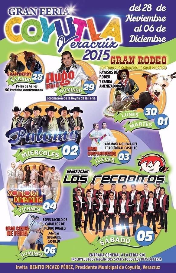 TE ESPERA LA GRAN FERIA DE COYUTLA 2015