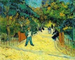 Entrada para o Jardim Público em Arles