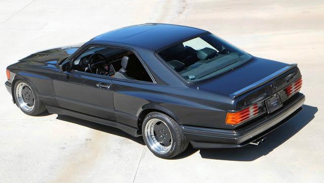 1990 mercedes 560 sec amg