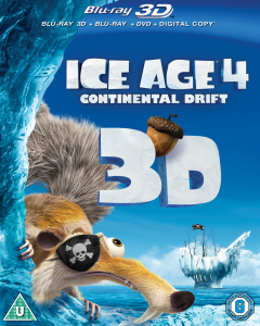 Download Ice Age 4: Continental Drift 3D (2012) BluRay 720p Half SBS 600MB