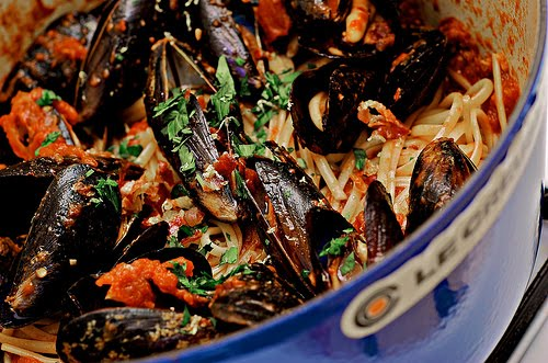 Mussels alla Diavola For Le Weekend~