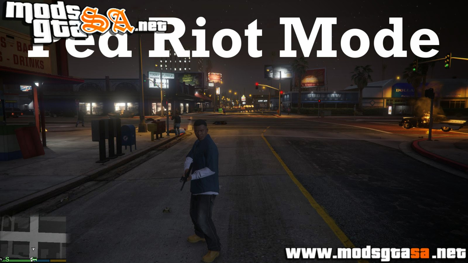 V - Mod Ped Riot/Chaos v0.1