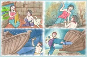Dongeng legenda tangkuban perahu singkat pendek cerita kisah terjadinya gunung tempat wisata tangkuban perahu di bandung jawa barat cerita rakyat