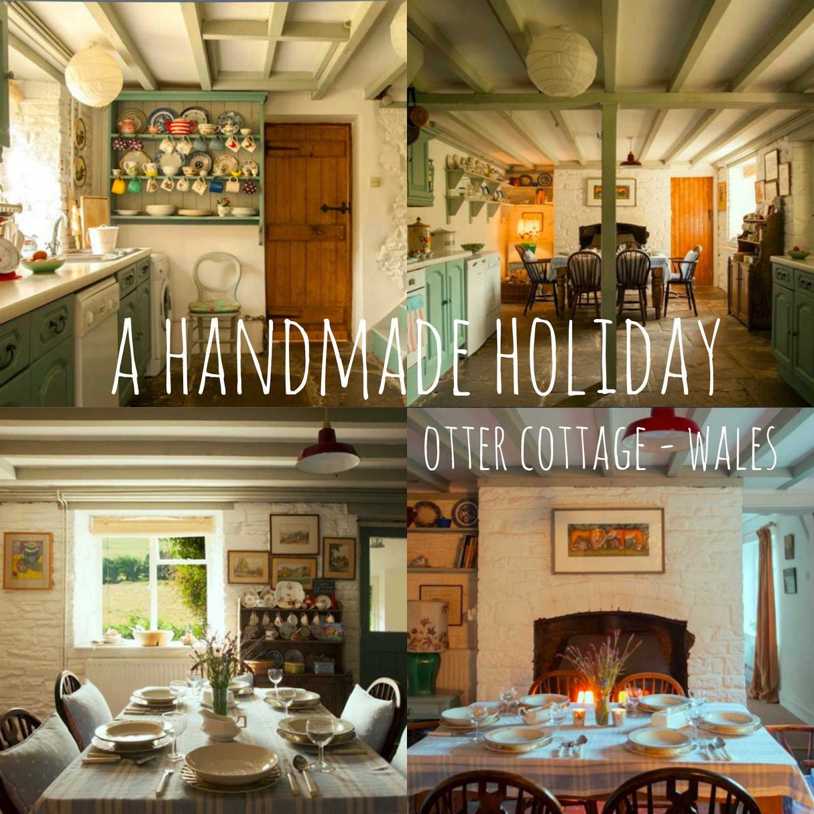 A handmade holiday - Otter cottage
