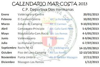 Concursos temporada 2013
