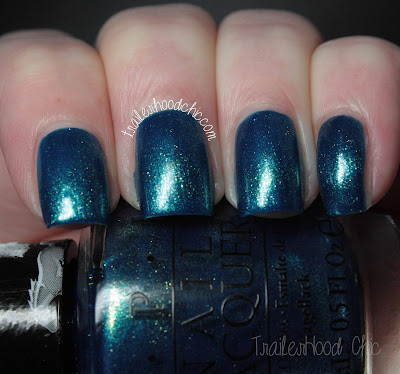 opi ford mustang the sky's my limit review swatches