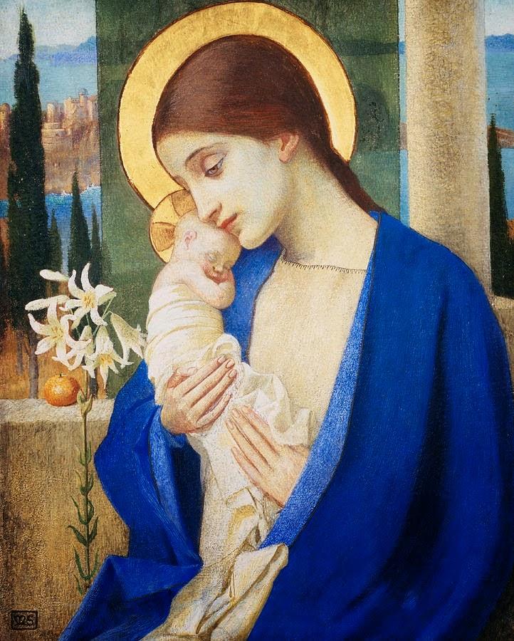 Holy Mary, Mother of God   AirMaria.com