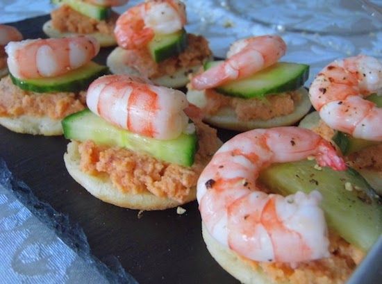 Emily 39 s recipes and reviews uk food blog for Simple canape ideas