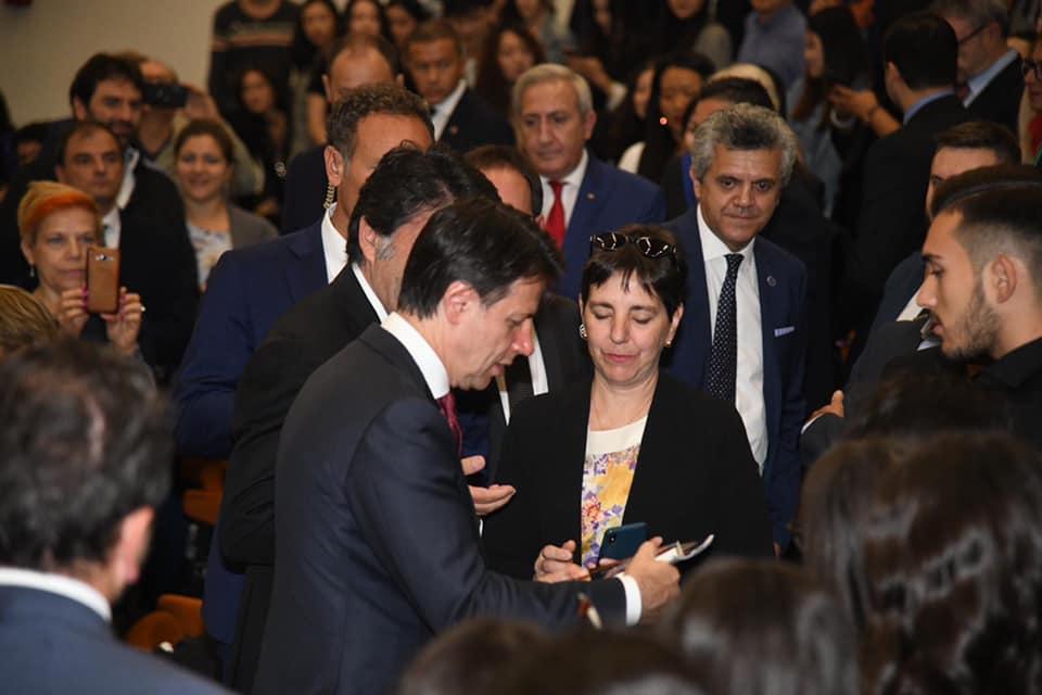 VISITA DEL PRESIDENTE DEL CONSIGLIO PROF. GIUSEPPE CONTE 14 OTTOBRE 2019