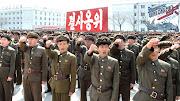 North Korea issue north korea military parade
