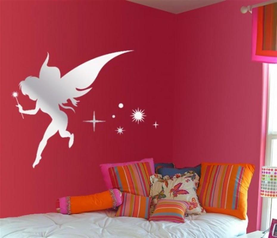 angel wall sticker for children