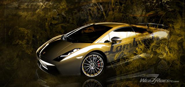White gold car
