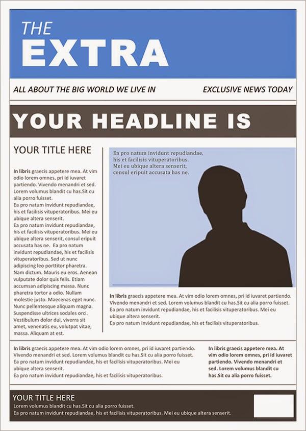 best newspaper templates free download
