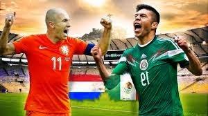 اهداف مباراة هولندا والمكسيك اليوم الاحد 29-6-2014 في دور الـ 16