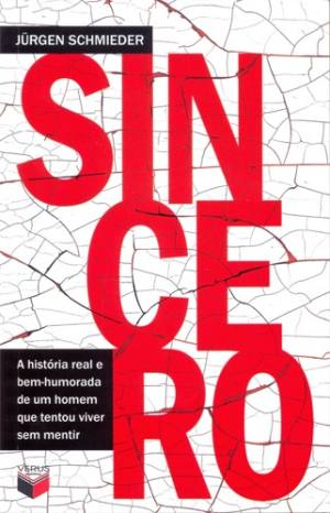 livro sincero capa jurgen schmieder