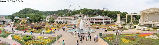 Parque de atracciones Everland de Corea del Sur