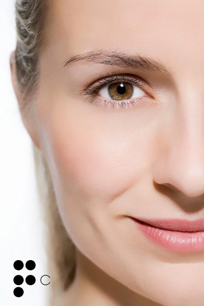Ekstra las máscaras para la piel alrededor de los ojos
