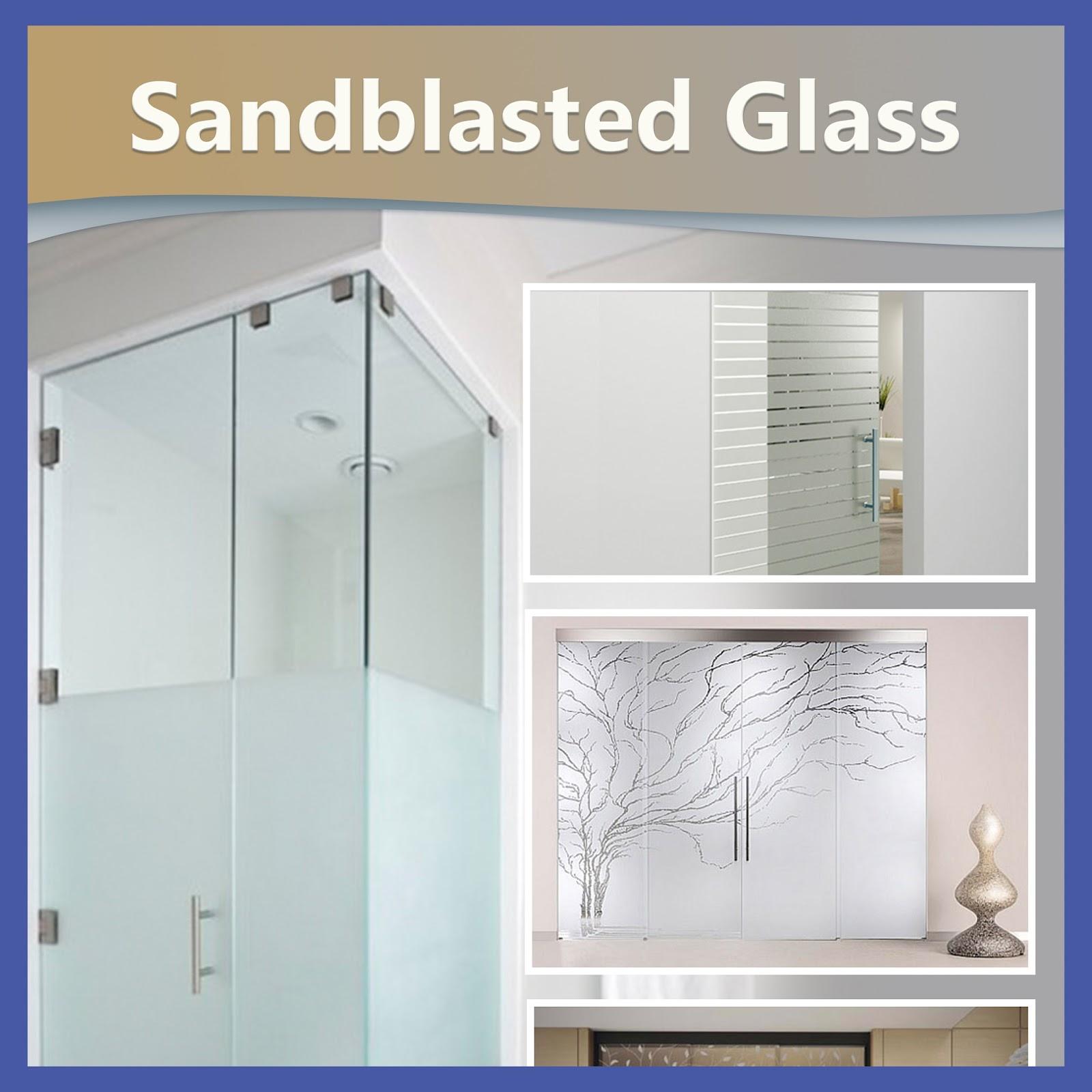 sc 1 st  Shower Door Installation nyc & Sandblasted Glass | showerdoorinstallationnyc.com pezcame.com