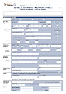 Aggiornamento software Registrazione Locazioni Immobili (RLI) 1.0.9 per Mac, Windows e Linux