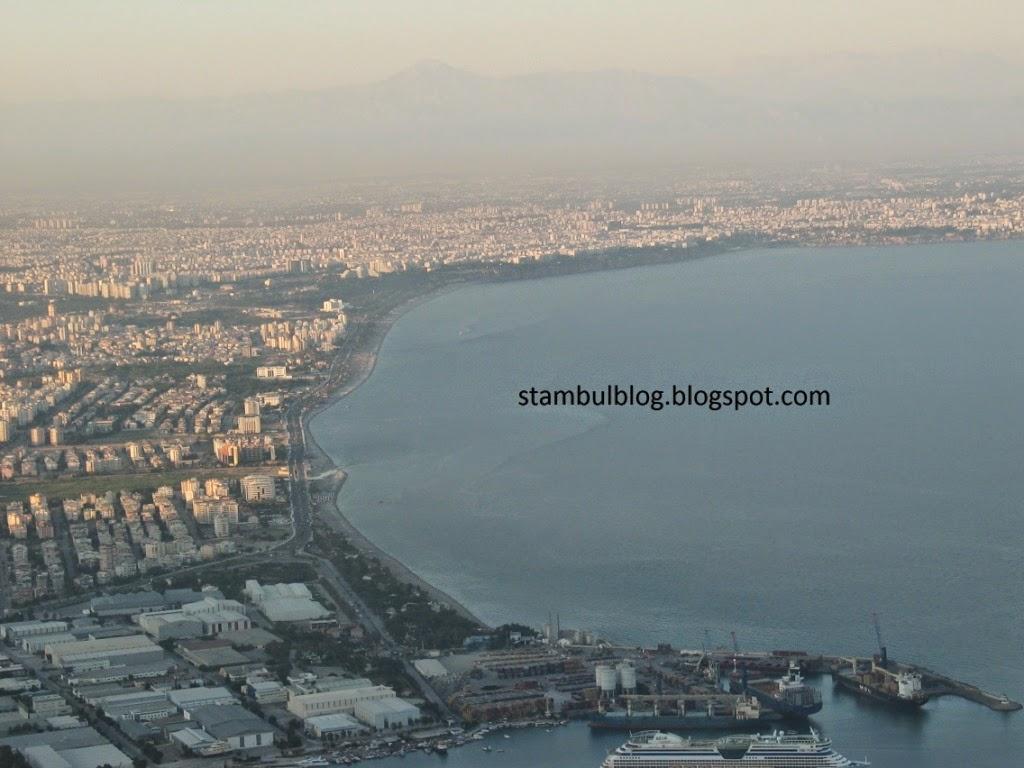 Вид с горы в Анталии