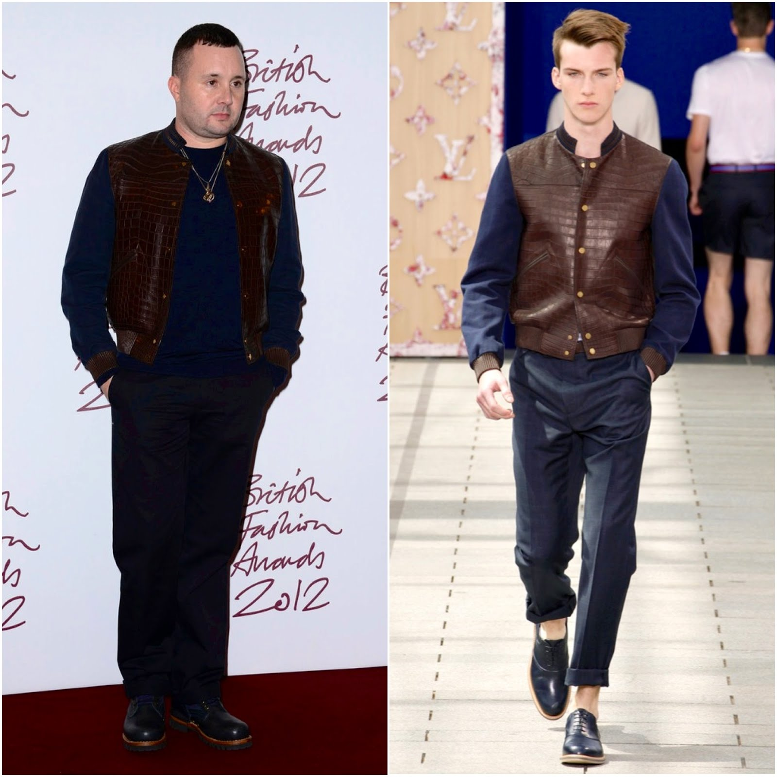00o00 London Menswear Blog Celebrity Style Kim Jones in Louis Vuitton - British Fashion Awards 2012