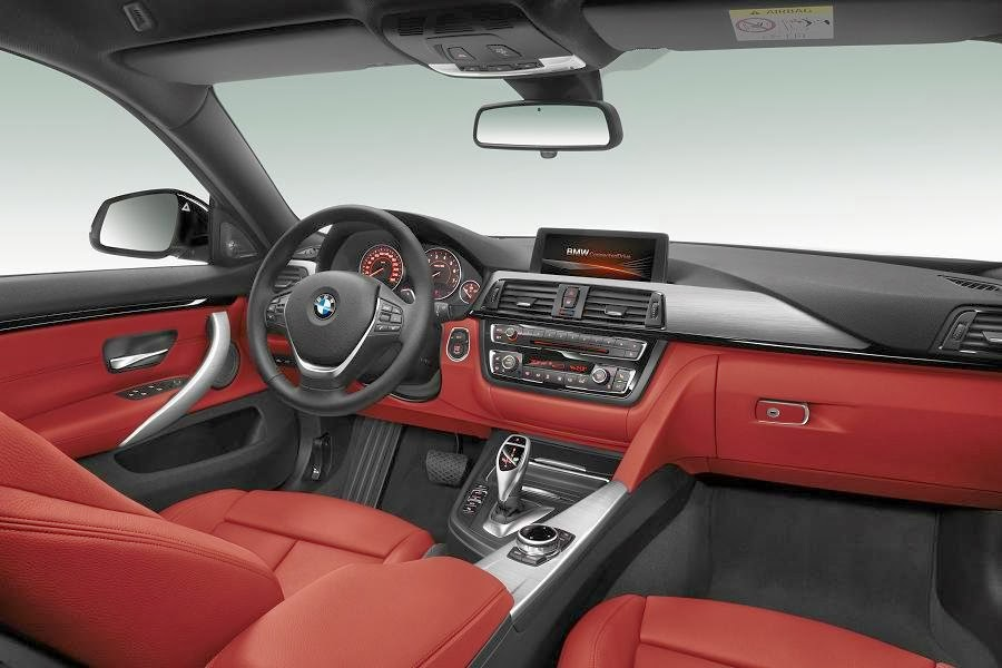 BMW 4 Series Gran Coupé Sport (2014) Dashboard