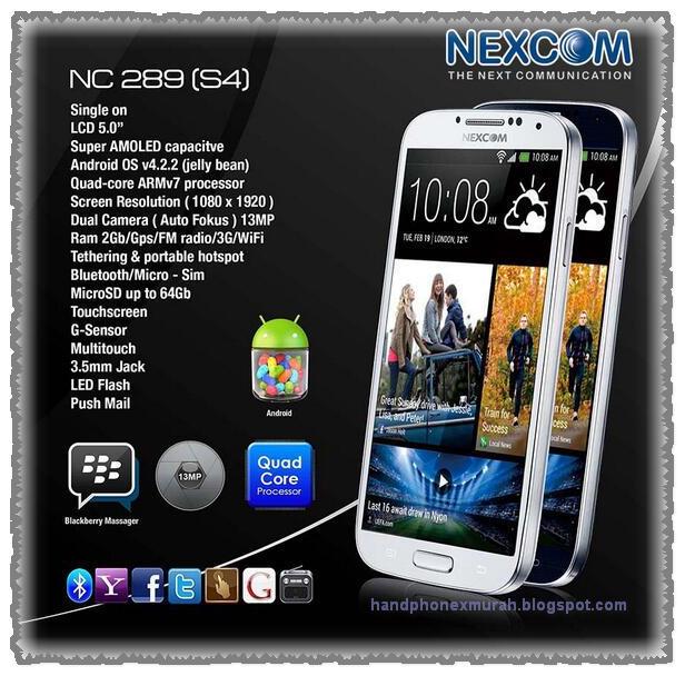 Review HP Nexcom NC289 Harga Murah Spek Meragukan
