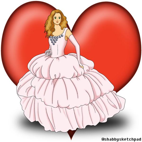 Chiffon sexy v neck flower trimmed short bridesmaid pink wedding dress