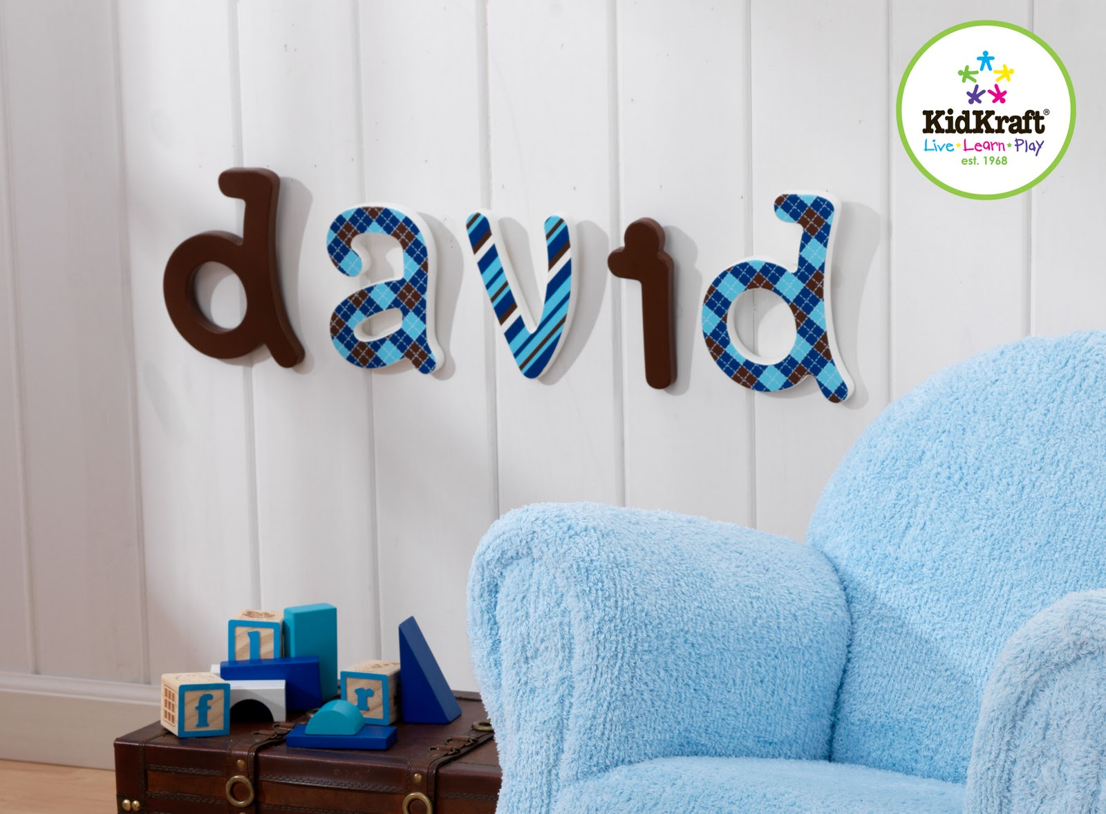 DIVINE BABY FURNITURE: KidKrafts NEW! Decorative Wooden Letters!