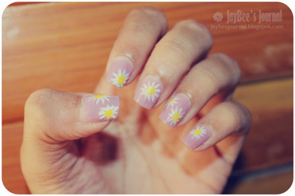 summer daisy nail art design, Pakistani beauty blog, Pakistani nail art blog