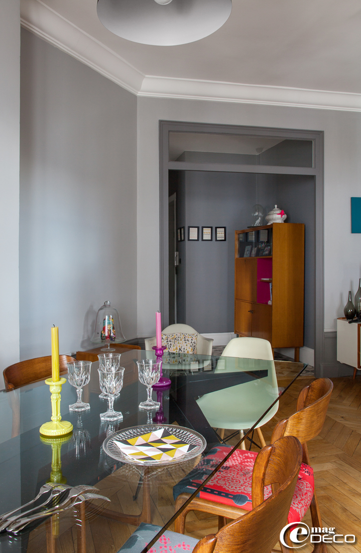 Un appartement trendy lyon e magdeco magazine de - Case colorate interni ...
