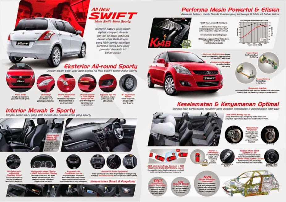 BROSUR SUZUKI ALL NEW SWIFT