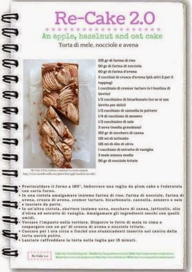 "Ho partecipato a Re-Cake 20 di Febbraio 2015 ""An apple, hazelnut and oat cake"""