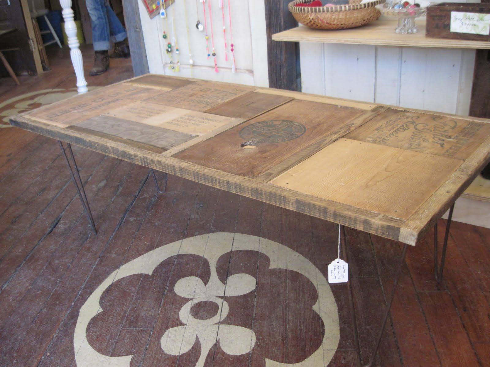 Sticks And Bricks Custom Coffee Tables
