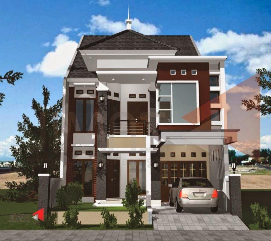 desain rumah minimalis modern 2 lantai share the knownledge