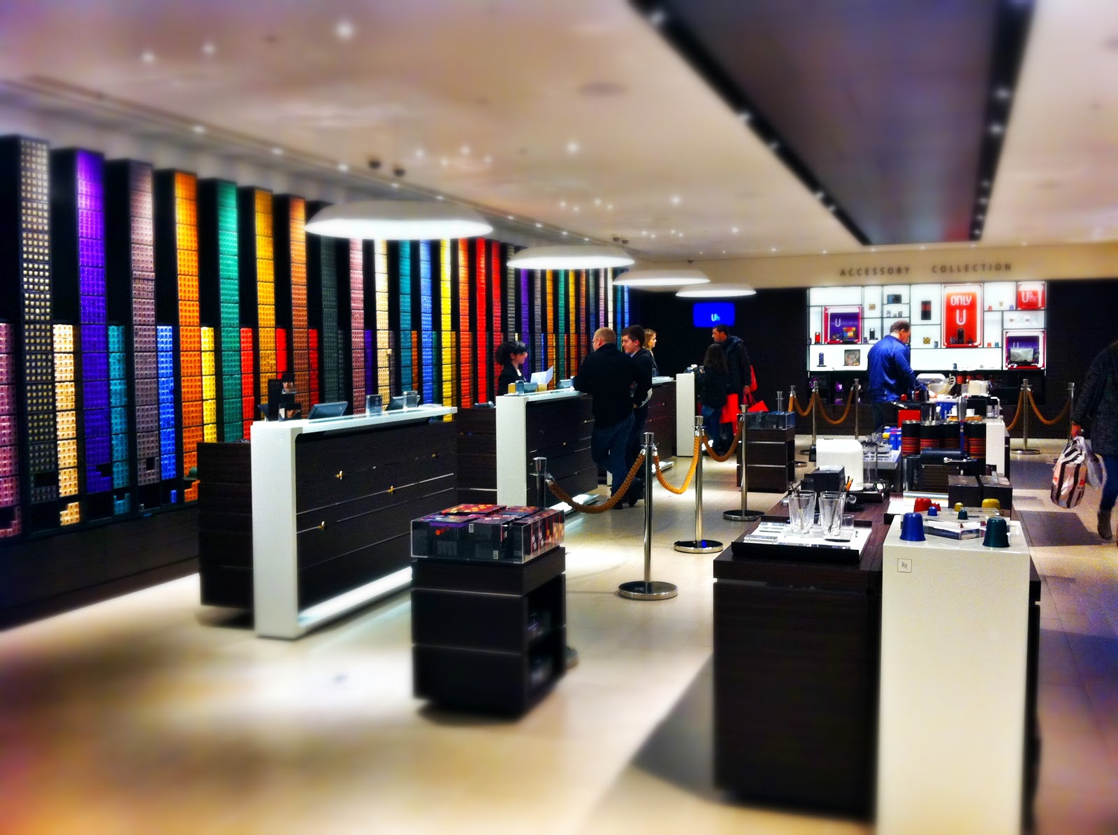 Nespresso Regent Street boutique flagship store satisfying your addiction -> Nespresso London