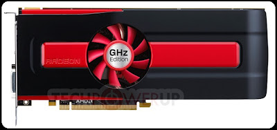 VGA Card Dual GPU AMD Radeon HD 7990 GHz Edition