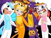 Disney Princesses Animal Crew Halloween