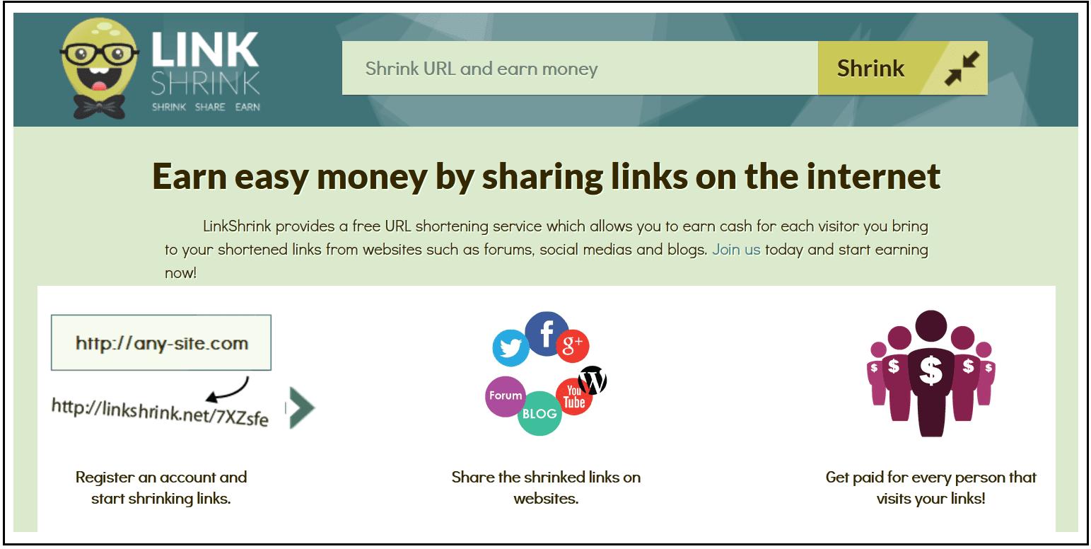 LinkShrink 2nd Image Screenshot