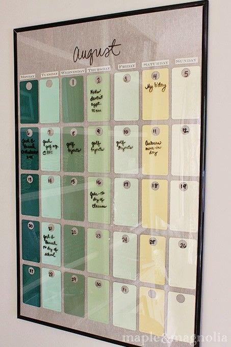 kalendarz ścienny 2014