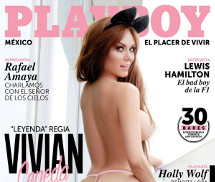 Vivian Cepeda Playboy México Agosto 2015